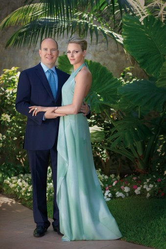 engagement photo prince albert charlene wittstock