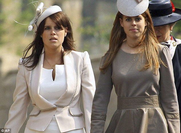 princess beatrice princess eugenie easter sunday windsor
