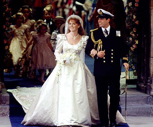 duke and duchess of york wedding westminster abbey