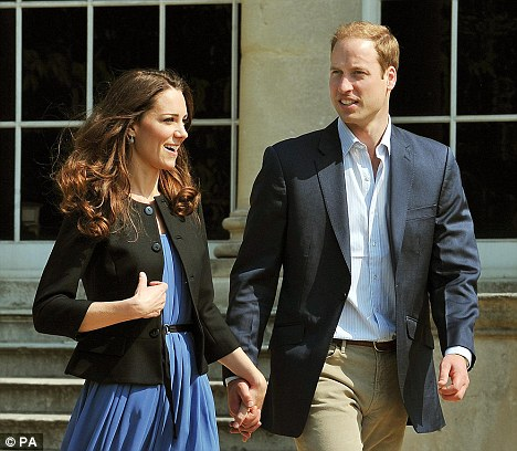 william and kate after the wedding