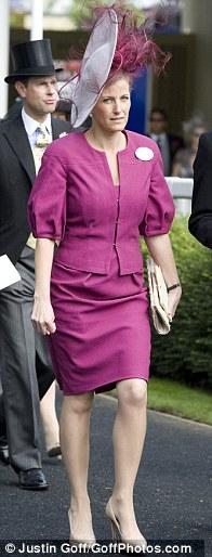 sophie wessex ascot hat 2011