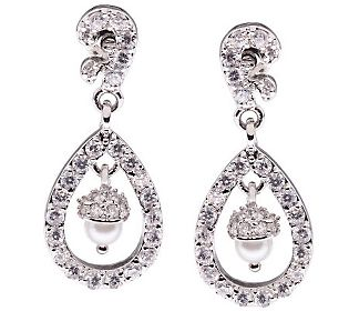 Kenneth Jay Lane version of Catherine Middleton royal wedding earrings