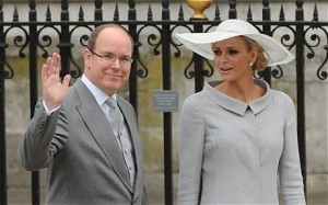 charlene wittstock prince albert royal wedding london