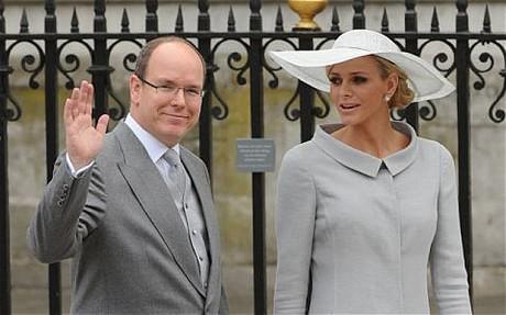 charlene wittstock prince albert royal wedding london