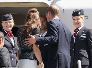 prince william and kate leave los angeles after tour of u.s. and canada 2011