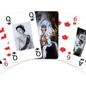 queen elizabeth playing cards diamond jubillee
