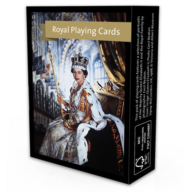 queen elizabeth diamond jubilee cecil beaton playing cards souvenirs