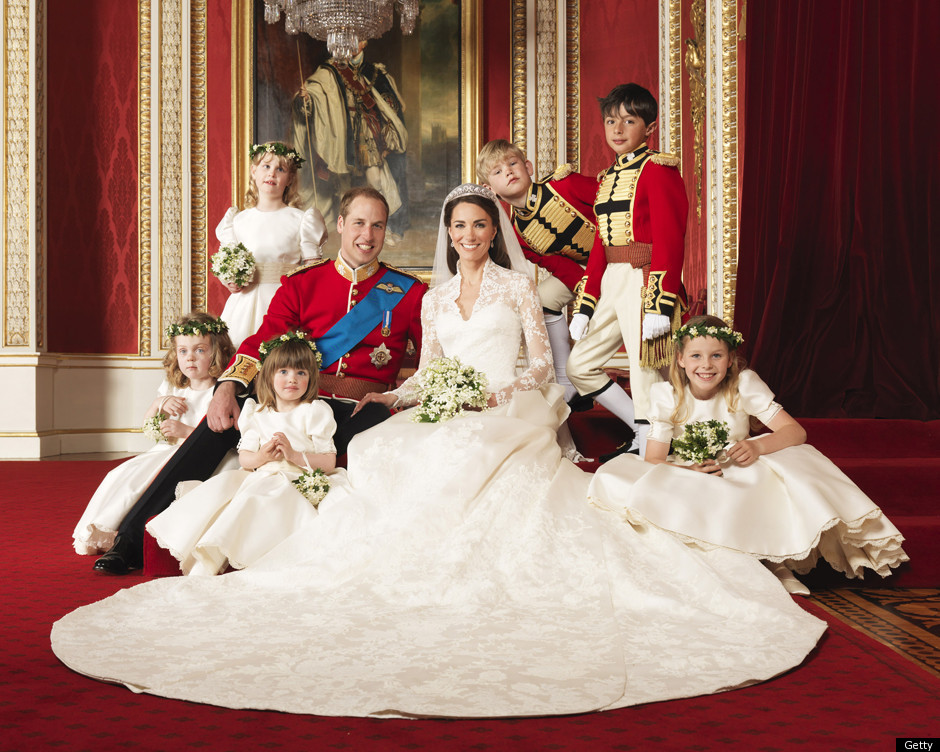 royal wedding prince william catherine bridesmaids pages buckingham palace throne room