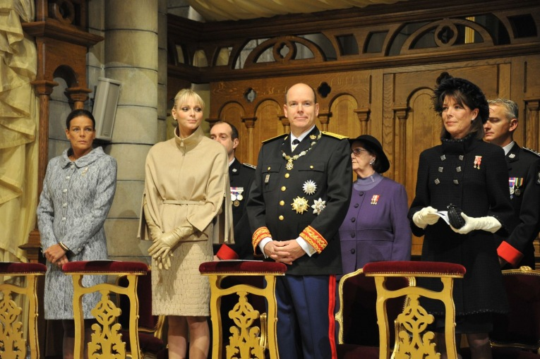 Latest photos from the Palais Princier in Monaco