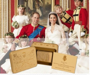 auction wedding cake prince william kate middleton