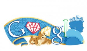 Google joins in the Diamond Jubilee